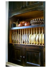 plate rack cabinets houzz