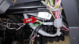 volvo 940 where to find the speaker wires and factory amp youtube