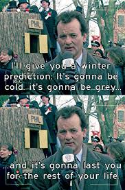 Bill Murray Groundhog Day Meme - the weather right now the meta picture