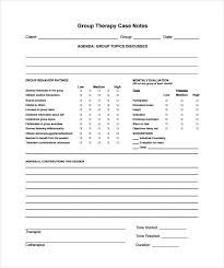 Writing Counselling Session Notes Notes Template 7 Free Word Pdf Documents Free