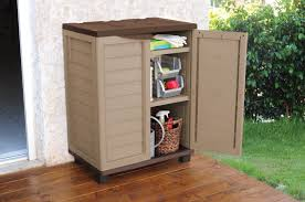 rubbermaid patio storage cabinets weatherproof outside storage cabis for your garden shoe patio