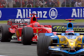 renault f1 alonso imola 2005 u2013 alonso holds off schumacher in a thriller