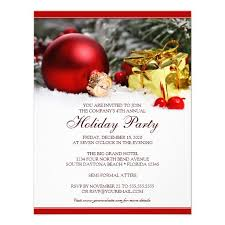 corporate holiday party invitation template holiday party