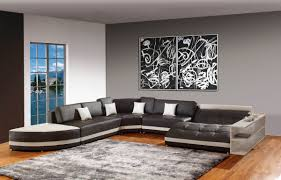 table decorating ideas living rooms grey walls brown l shaped
