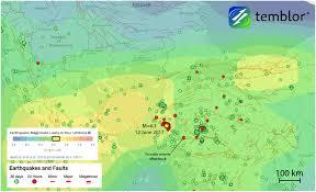 Sfsu Map From Temblor U201cm U003d6 3 Earthquake In The Aegean Sea Near The Greece