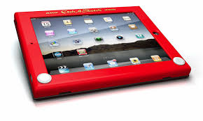 turn your ipad into a sweet retro etch a sketch one more gadget