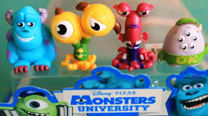 monsters university toys miniatures disney pixar monsters toys