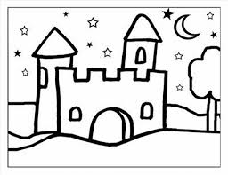 coloring pages for halloween printable printable free happy halloween castle castle coloring pages