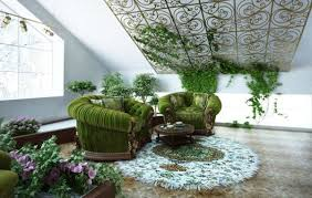how to decorate a small house with indoor plants