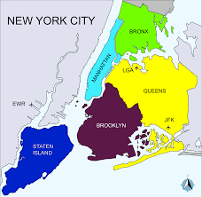 File Map Of New York File New York City District Map 2 Svg Wikimedia Commons