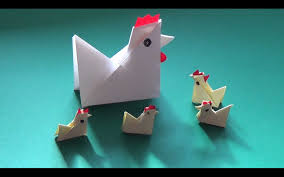 how to fold yourself a paper chicken in less than five minutes