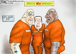 Tuna Sub Meme - cartoon reveals what happens to child molesters in prison