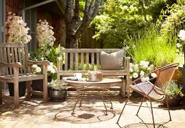 Wooden Outdoor Patio Furniture by Hardscaping 101 How To Care For Wood Outdoor Furniture Gardenista