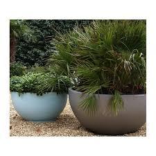 low bowl planters