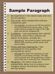 four square paragraph