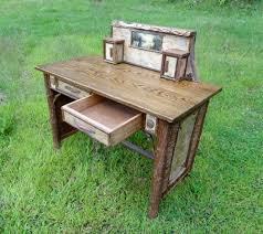 Rustic Writing Desk by Custom Rustic Furniture By Don Mcaulay Rustic Writing Desk