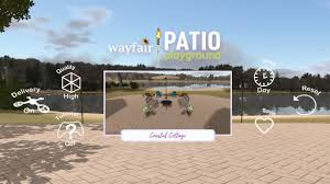 Patio Design App by Wayfair Launches Virtual Reality App To Customize Outdoor Spaces