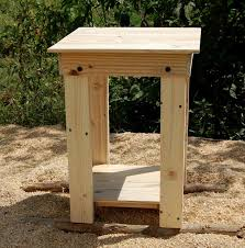 diy easy to build pallet nightstand and side table pallet