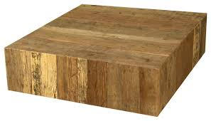 Square Wooden Coffee Table Wood Square Coffee Table Living Concepts Rustic