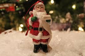 santa checking his list christmas ornament exclusively christmas