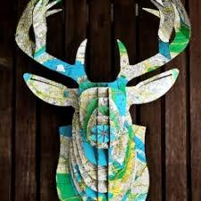25 map crafts to make craftgawker
