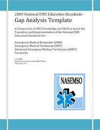 sample gap analysis skills gap analysis word template free