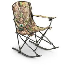 Rocking Folding Chair Stansport Team Realtree Folding Rocking Chair 178647 Chairs