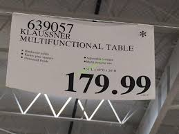 klaussner multifunctional table 639057 costco 639057 klaussner multifunctional table tag jpg 750 563