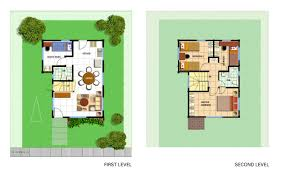 floor plan with perspective house avida settings cavite avida house and lot cavite atayala
