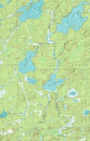 Boundary Waters Map Boundary Waters October 2004