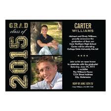senior graduation invitations 2015 graduation invitations 3479 and photo collage graduation