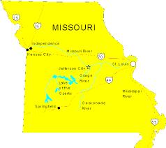 map of missouri missouri maps map of missouri