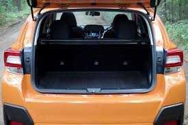 subaru crosstrek interior trunk wbir com review new subaru crosstrek comes blizzard ready