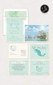 destination wedding invitations destination wedding invitation cabo san lucas los cabos