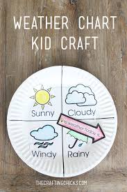 weather chart kid craft weather charts kid crafts and charts