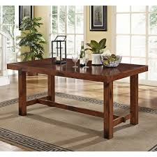 amazon com 6 piece solid wood dining set dark oak table