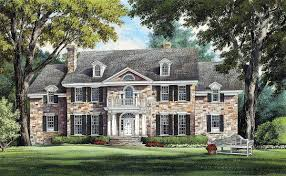 magnificent colonial home plan 32419wp architectural designs