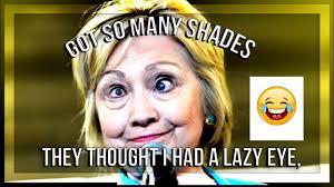 Lazy Eye Meme - hillary weird eyes meme a lazy eye youtube