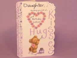beautiful daughter or daughter in law birthday cards starting at 89p