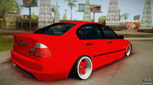 stance bmw m3 bmw m3 e46 stance for gta san andreas