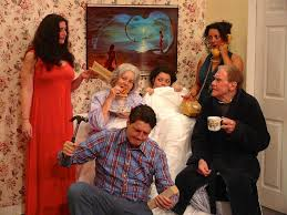 Alan Ayckbourn Bedroom Farce Recent Productions And Reviews Ecclesall Theatre Company