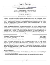 Sample Resume Logistics Coordinator by Warehouse Specialist Resume 22 Manager 10 Sample Job Resumes