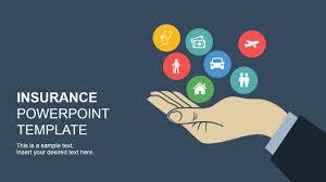 Insurance Powerpoint Template Slidemodel Healthcare Ppt Templates