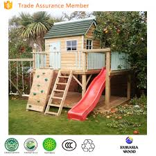 Wooden Backyard Playhouse Wooden Cubby House Wooden Cubby House Suppliers And Manufacturers