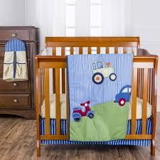 Portable Crib Bedding Travel Time 5 Pc Reversible Portable Crib Set On Me