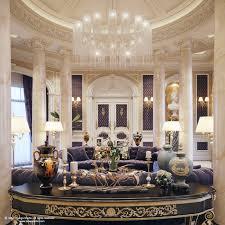 mansion design luxury mansion interior qatar on behance