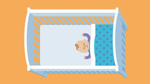 Baby Sleeping In A Crib by The Best Sleeping Position For Your Baby The Lullaby Trust