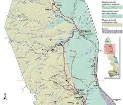 Map Of Northern Africa by Kruger Park Map Game Drive Safari Northern Kruger Park