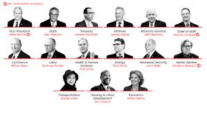 Cabinet President White Males Dominate Donald Trump U0027s Top Cabinet Posts Cnnpolitics