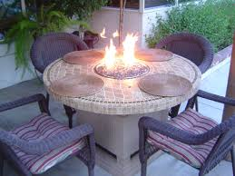 how to build a fire pit table how to make a wood table into an outdoor fire pit with glassel how
